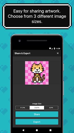 8bit Painter - Pixel Art Drawing App 1.13.5 screenshots 5