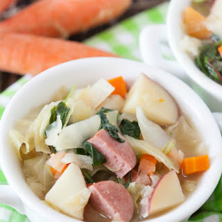 Bavarian Sausage Cabbage Soup