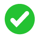 Safety history green check icon