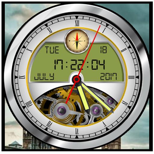 Analog Clock Live Wallpaper 2017: Clock Widget