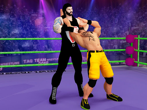 Tag team wrestling 2020: Cage death fighting Stars screenshots 13