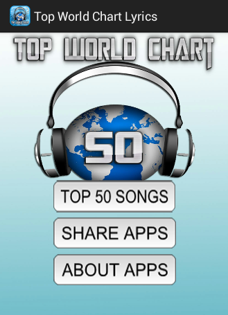 Top World Chart Songs