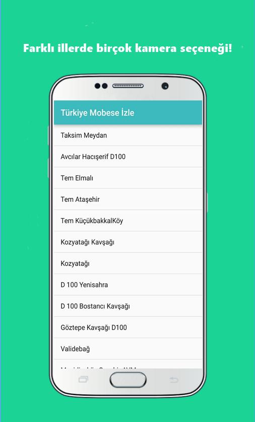 Screenshots of Türkiye Mobese İzle for iPhone