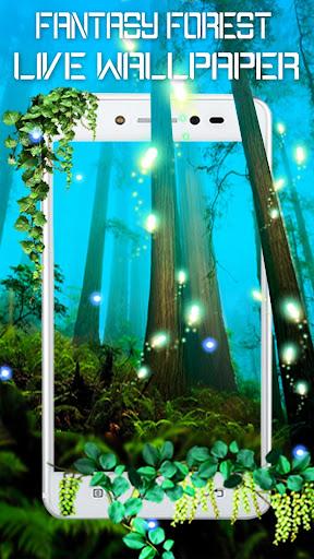 夢幻森林動態壁紙