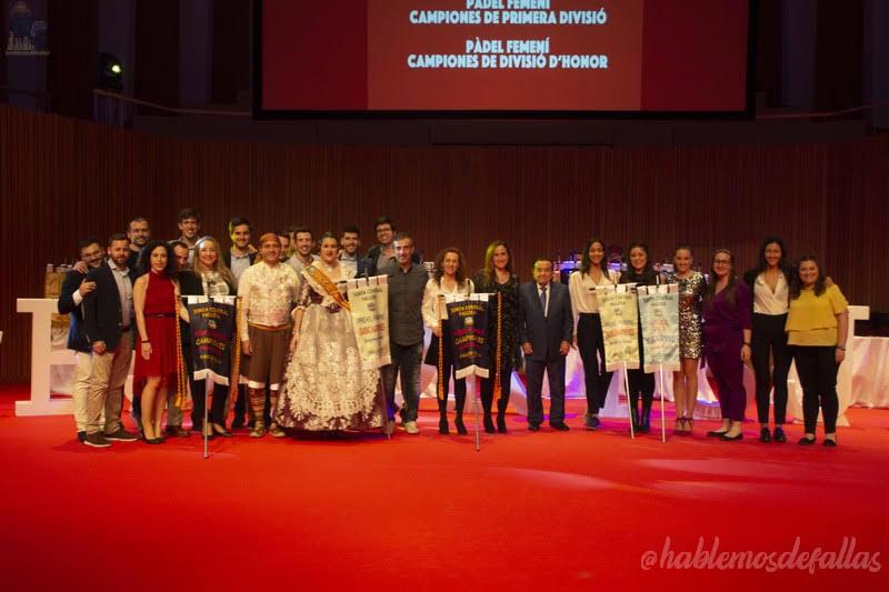 144 Premios se entregaron en la Gala del Deporte