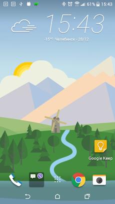 アニメーション風景予報ライブ壁紙 Animated Landscape Forecast FREEのおすすめ画像4