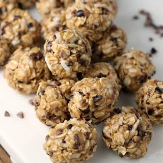 No Bake Peanut Butter Coconut Balls Recipes.