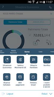 Mobile Banking UniCredit screenshot 03