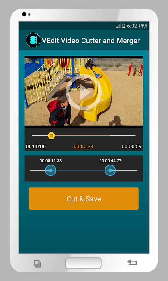 VEdit Video Cutter and Merger- screenshot