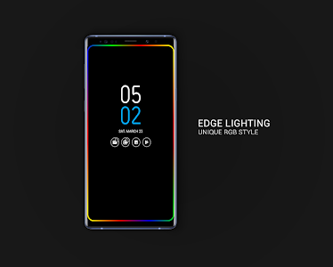 Always on AMOLED | Edge Lighting 🌟 3 1 1 (Pro) APK for Android