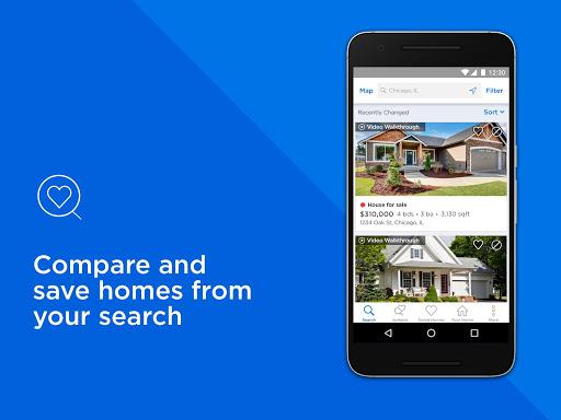 Real Estate & Rentals - Zillow Screenshot