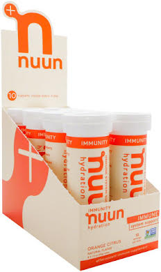 Nuun Immunity Hydration Tablets: Orange Citrus, Box of 8 alternate image 1