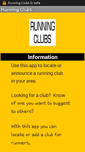 Running Clubs