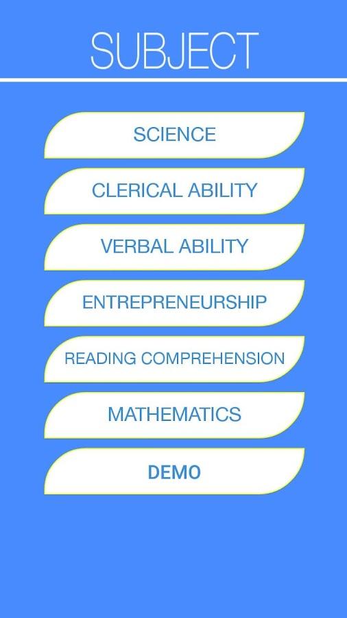 ncae reviewer screenshot - Free Career Assessment Tests Review