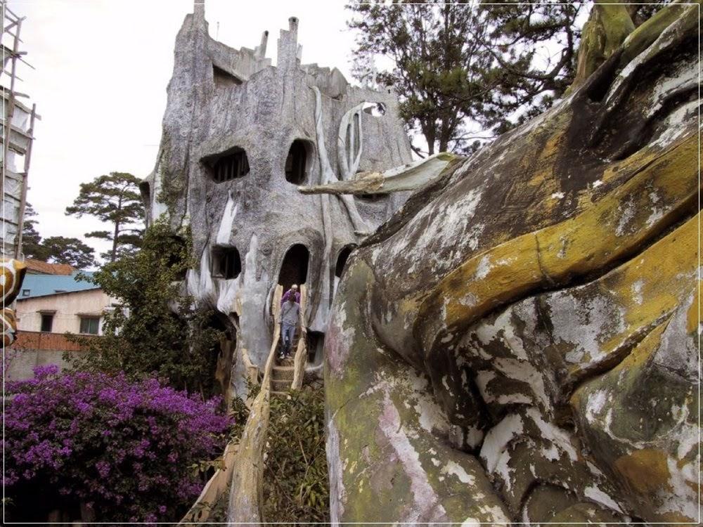 Crazy House, a casa de contos de fadas