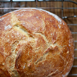 No-knead Artisan Bread.
