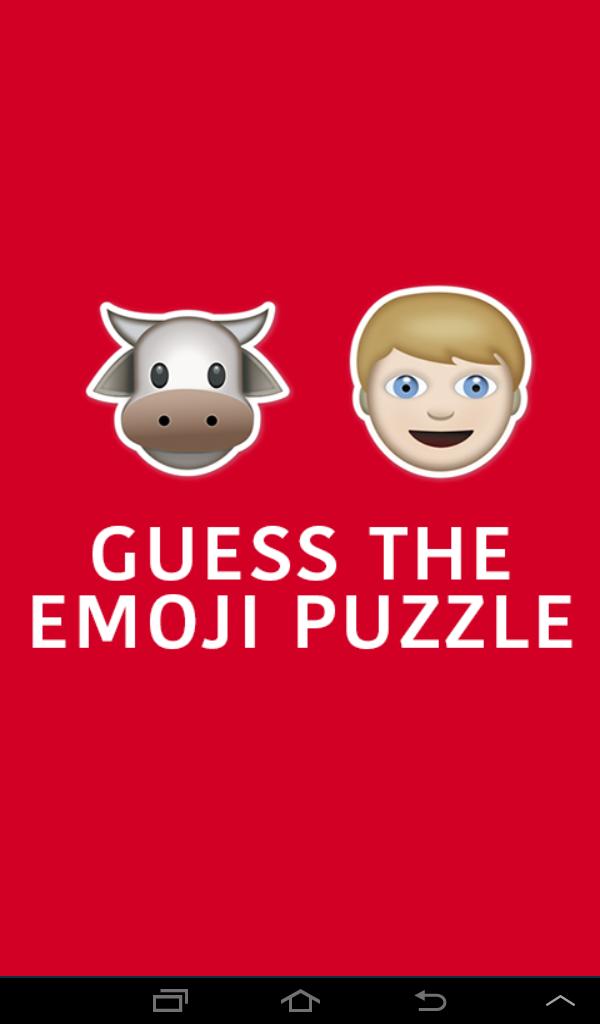 Скриншот Guess The Emoji Puzzle Quiz