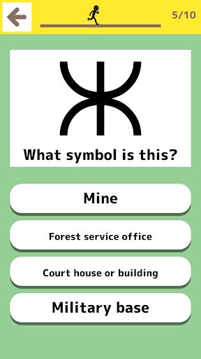 Japanese map symbols - Fun education series 1.3.0 screenshots 2