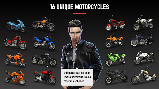 Racing Fever: Moto game (apk) free download for Android/PC/Windows screenshot