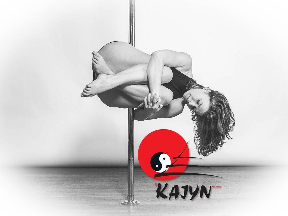 Julie Grisot prof de pole Acrobatique et Hamac yoga au Kajyn