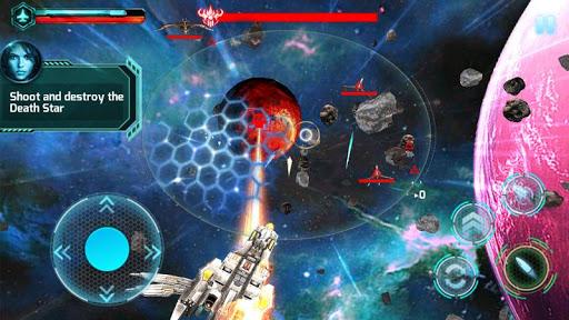 Attaque de galaxie 3D APK MOD – ressources Illimitées (Astuce) screenshots hack proof 2