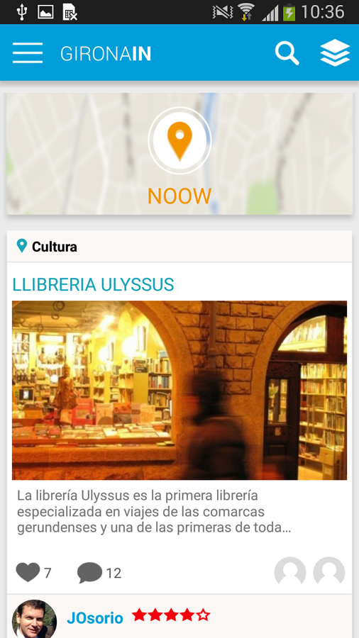 Gironain. Ajuntament Girona - screenshot