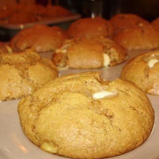 Peanut Butter and Banana, White Chocolate Chip Pumpkin Muffins