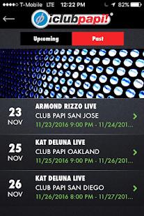 Club Papi Events - náhled