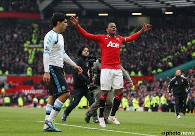 Patrice Evra fait son retour à Manchester United