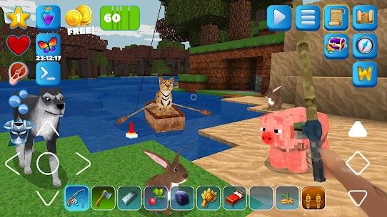 AdventureCraft: 3D Craft Building & Block Survival 4