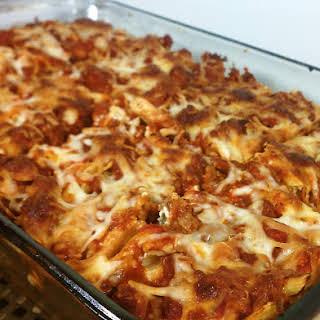 Layered Pasta Bake.