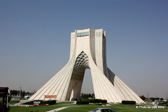 Photo: Day 132 – Azadi Monument (Called  Freedom Monument After the Revolution)  in Tehran (Erected During Shah Days)