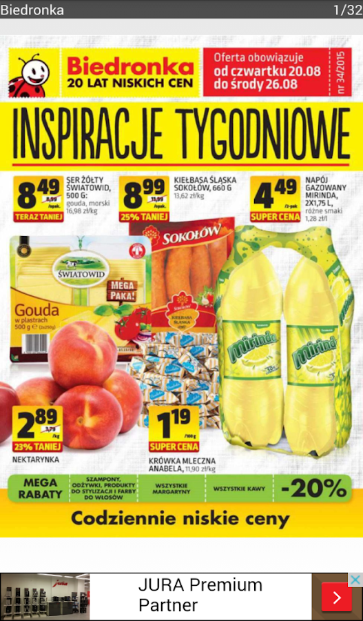 Moja Gazetka, promocje, kupony- screenshot