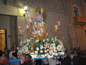 Photo: fiestas in Sella procession de la virgen Aurora