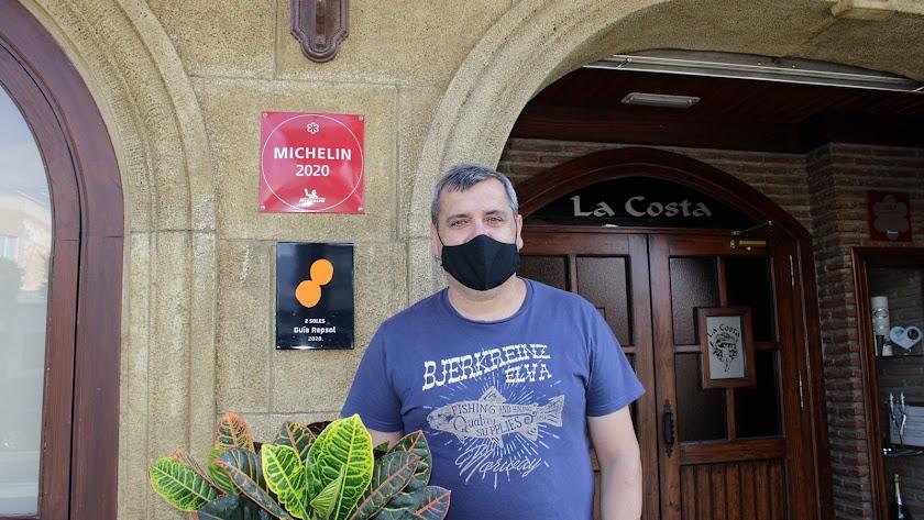 José Álvarez, Estrella Michelín y chef del Restaurante La Costa.