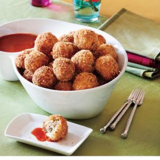 Bacon-Grits Fritters.