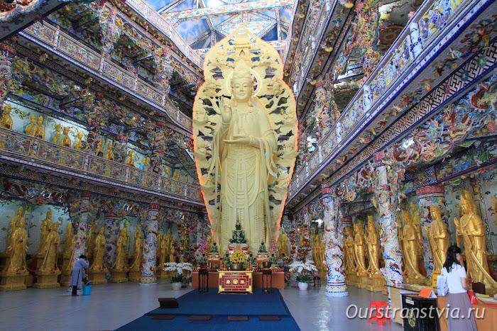 Достопримечательности Далата - пагода Линь Фуок