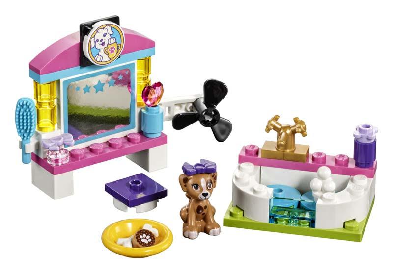 Contenido de Lego® 41302 Centro de Belleza para Mascotas