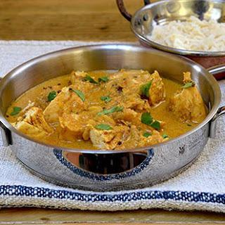 Simple Goan Chicken Curry.