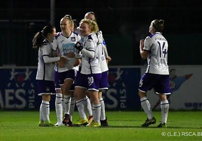 Anderlecht blijft indruk maken in tweede nationale vrouwen