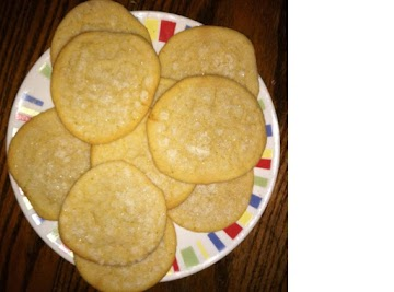 Great Great Grandma's Pioneer Trail -  Salt Cookies Recipe
