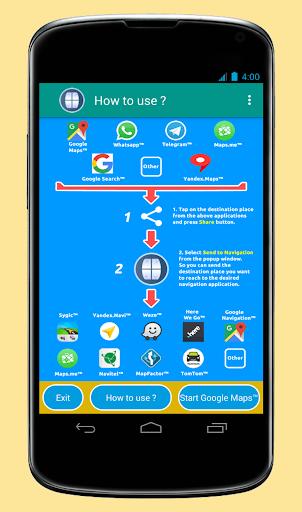 Send to Navigation 2.3.0 screenshots 1