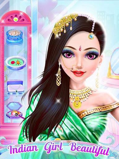 ... Indian Wedding Dresses Makeup Games For Girls screenshot 5