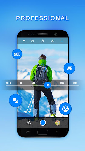 HD Camera - Best Cam with filters & panorama Android App Screenshot