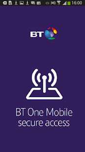 BT One Mobile secure access- screenshot thumbnail