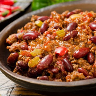 Red Bean and Beef Chili.
