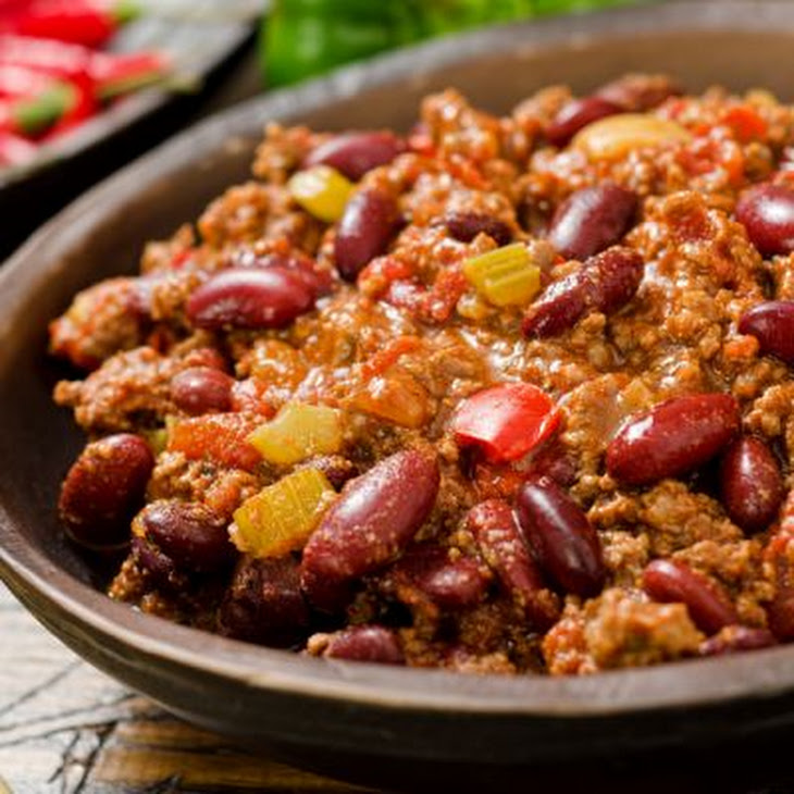 Red Bean and Beef Chili Recipe