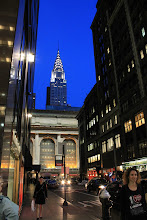Photo: Chrysler Building, seen from Madison Avenue, past Grand Central Station