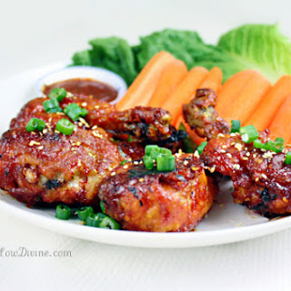 "Korean-Style Sweet and Spicy Chicken ""Wings"""