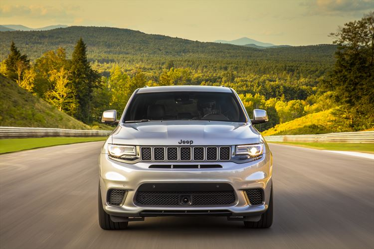 The Jeep Grand Cherokee Trackhawk is now available in SA